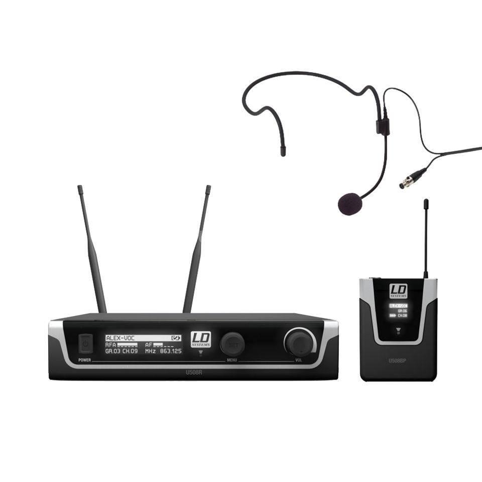 LD-Systems U508 BPH Headset Set Produktbild