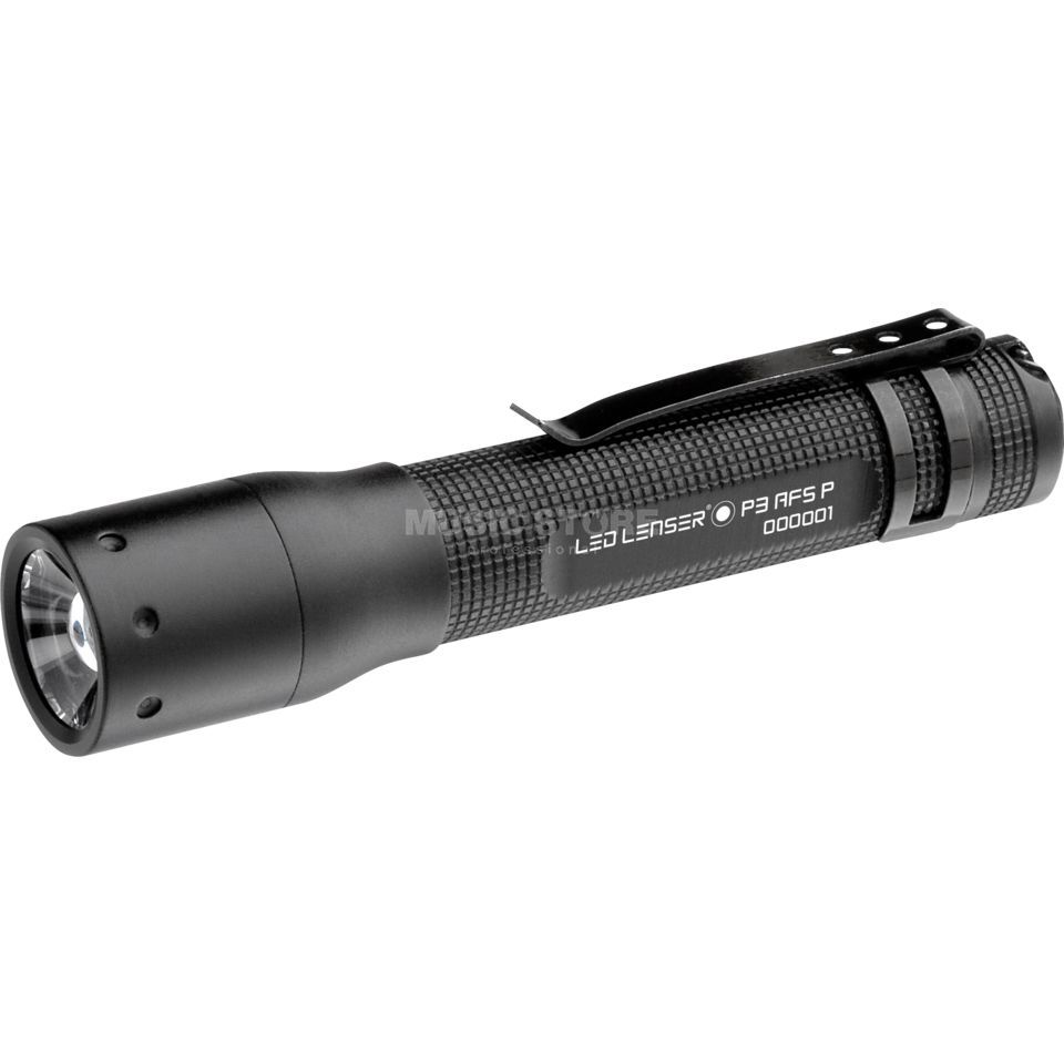 LED Lenser P3 AFS P, LED Lampe mit Focus Boxed, 1xAAA, inkl. Tasche Produktbild
