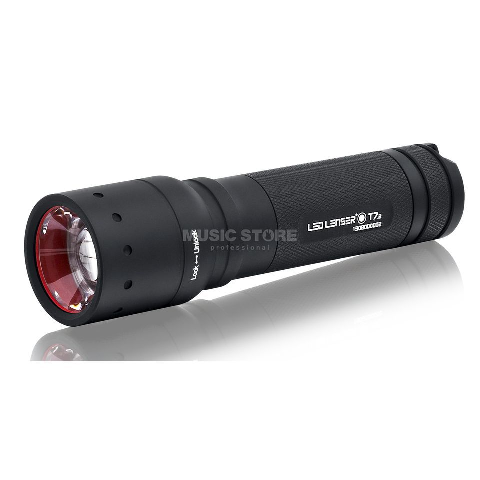 LED Lenser T7.2, LED Lampe mit Focus Boxed, 4xAAA, inkl. Tasche Product Image