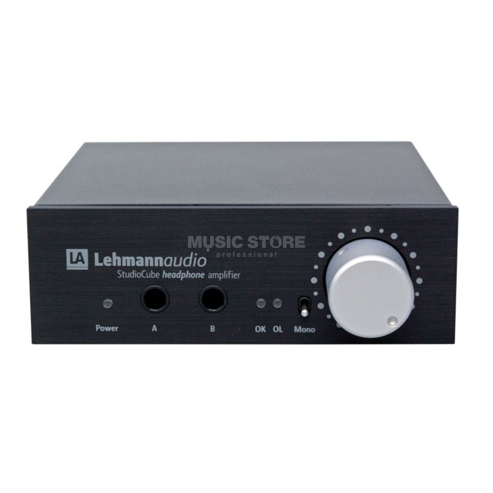Lehmann Studio Cube black Headphone Amp Produktbild