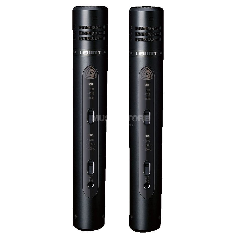 Lewitt LCT340CSK matched pair Small Membrane Microphone Produktbillede