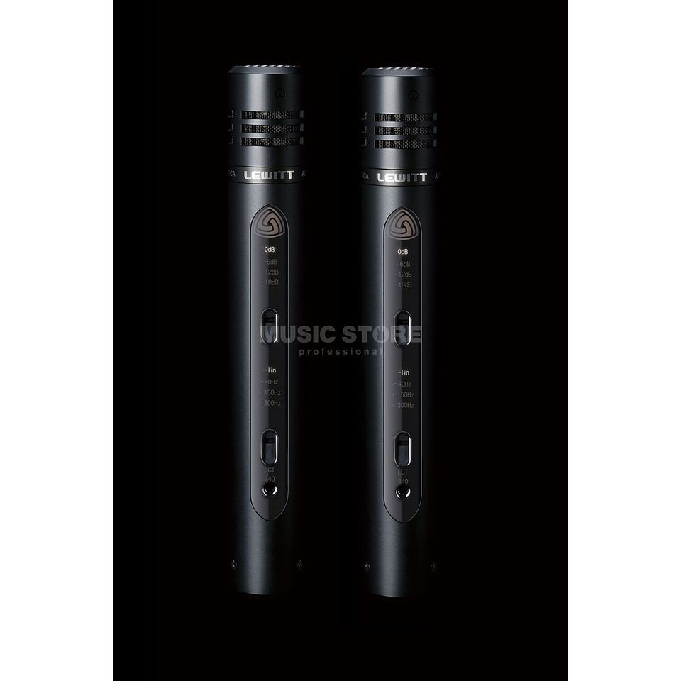 Lewitt LCT340DSK matched pair Small Membrane Microphone Produktbillede