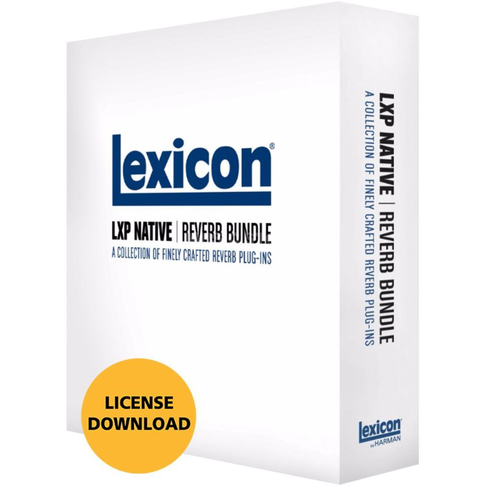 Lexicon LXP Native Reverb Bundle boxed, Limited Produktbillede