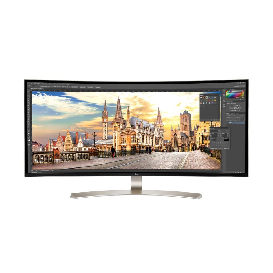 LG Electronics 38UC99-W 38 Zoll Curved UltraWide IPS Display Image du produit