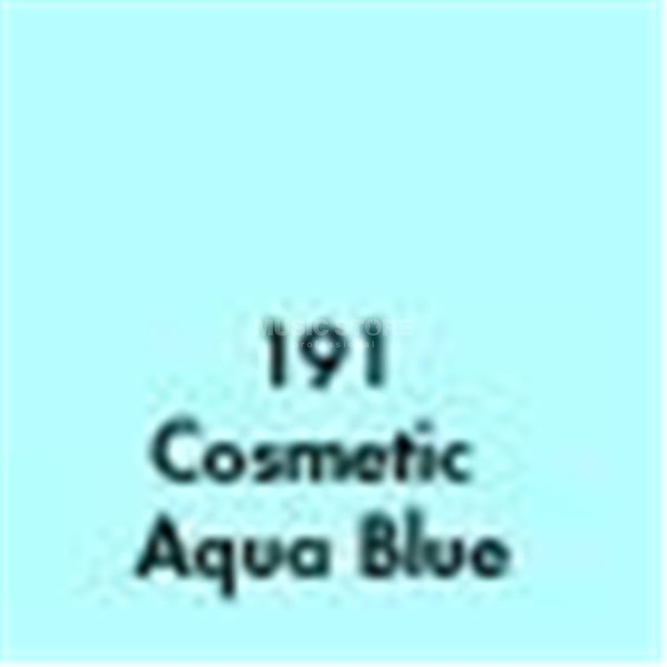 Lightequip Colour Foil 25 x 25 191 Aqua Blue Produktbillede