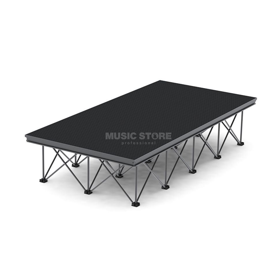 lightmaXX ALU-STAGE RISER X DESK 2x1m Tischplatte,Black,Outdoor,TÜV Product Image