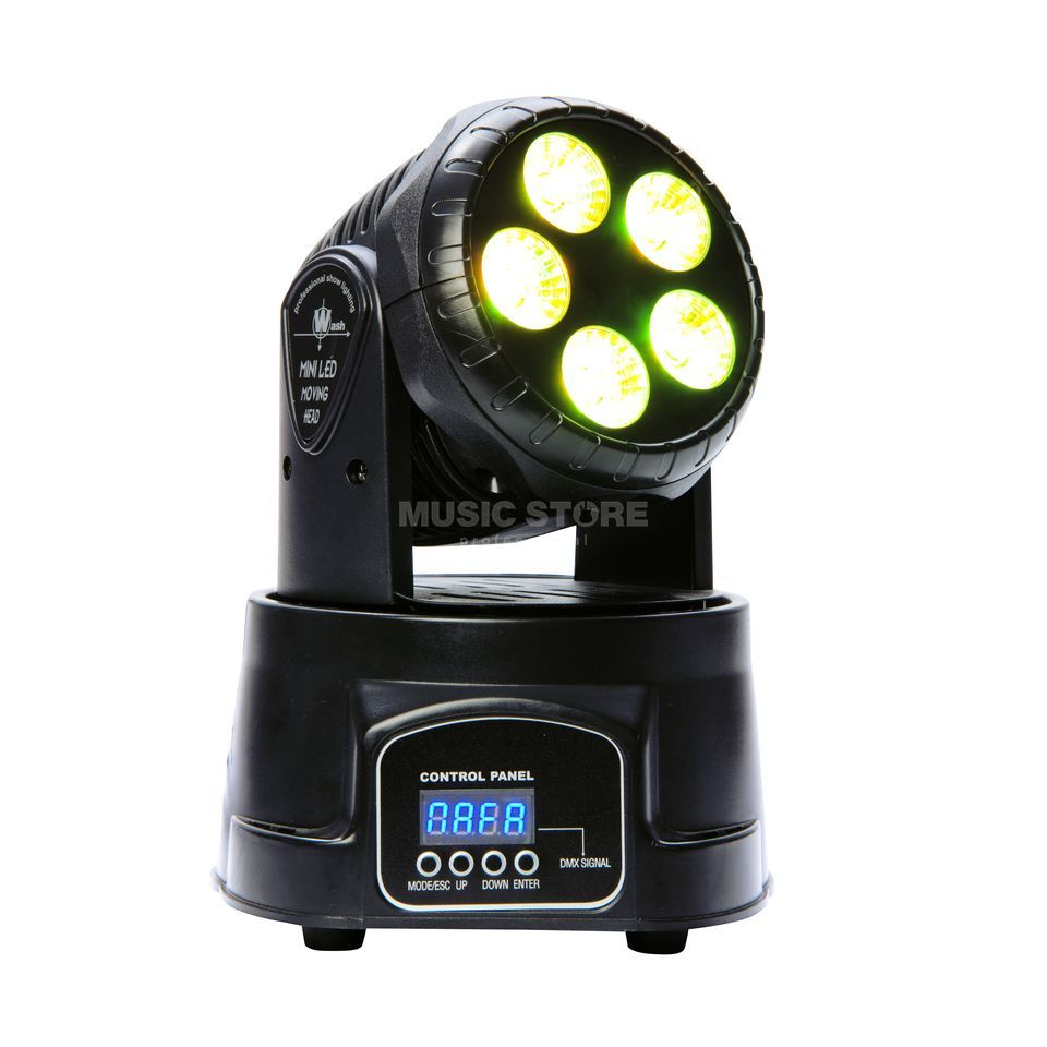 lightmaXX EASY WASH 5IVE 5x12W RGBAW, LED Moving Head Immagine prodotto