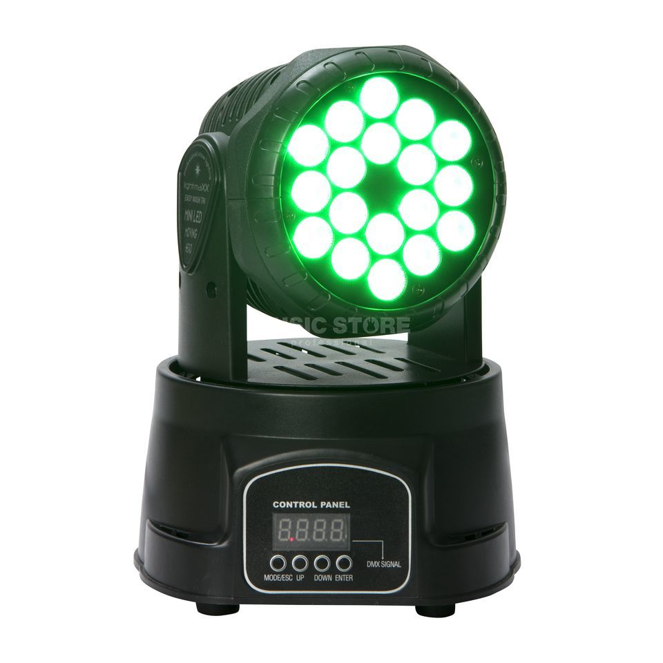 lightmaXX EASY WASH TRI 18x3W TRI, LED Moving Head Produktbild