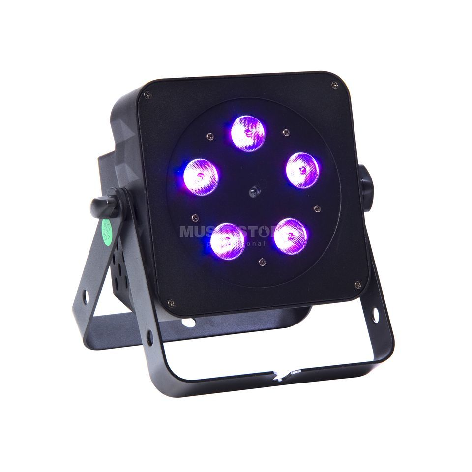 lightmaXX FLAT PAR TRI 5x3W TRI LED, IR Remote Product Image