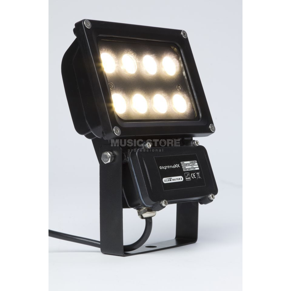 lightmaXX GARDEN LIGHT WARM WHITE  8x1W Illuminator II IP65 Produktbild