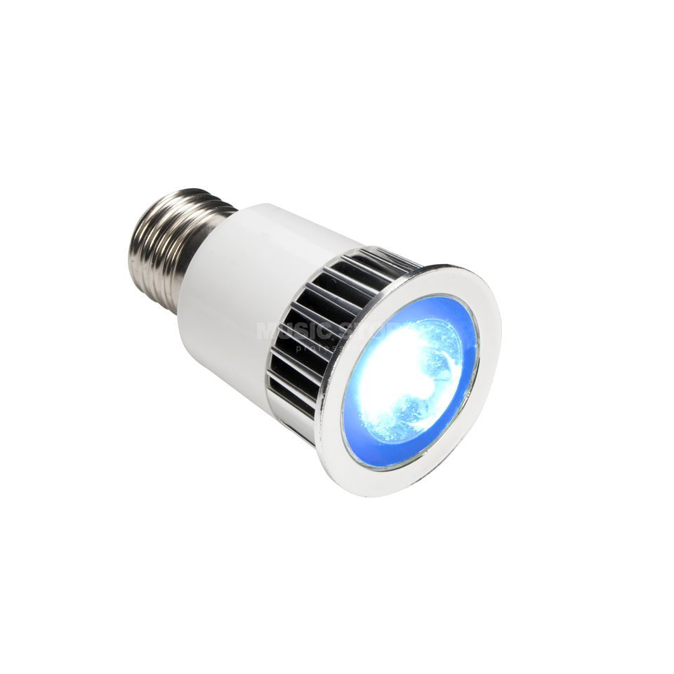 lightmaXX High Power-LED RGB E27 5W IR-Remote Produktbild