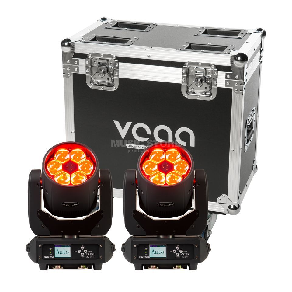 LightmaXX LED Mega PAR 64 Basic 1 - Set Produktbild