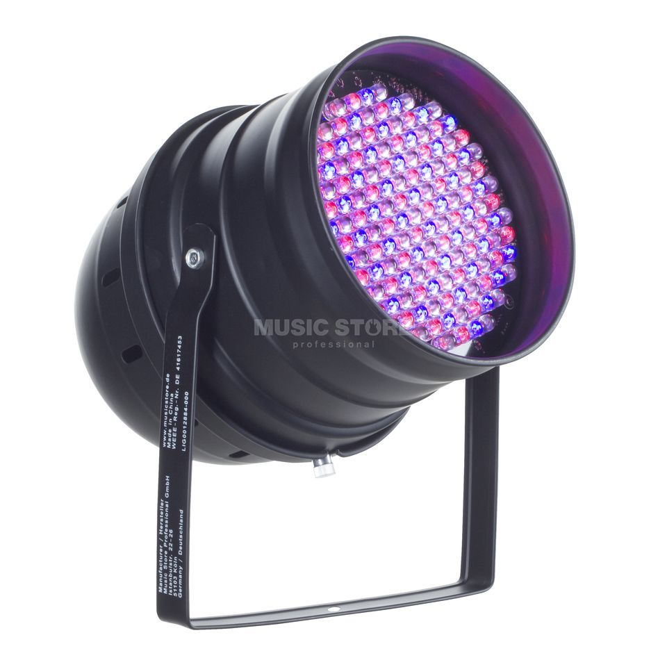 lightmaXX LED PAR 64 ECO 10mm Black 151 RGB  LEDs Produktbillede