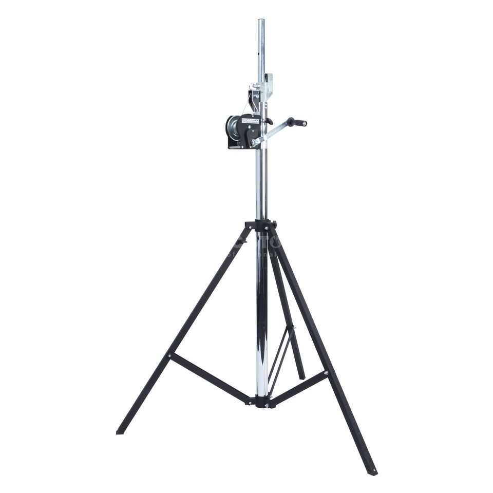 lightmaXX LS-4000 PRO WIND-UP STAND 4m, TV-Adapter, TÜV/GS, 85kg Produktbild