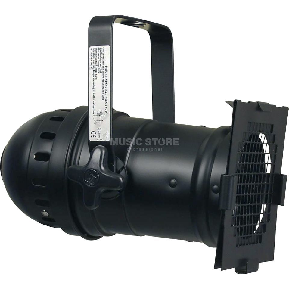 lightmaXX Par 46 Black Housing incl. Filter Frame Produktbillede