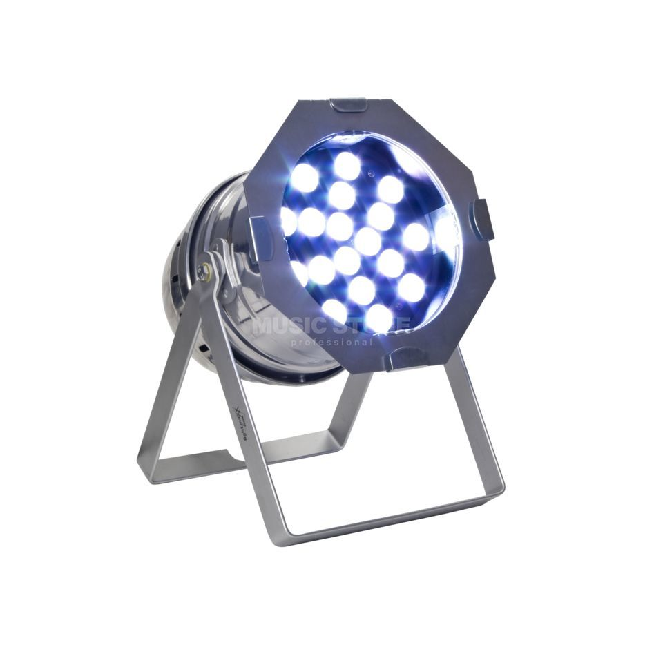 lightmaXX Platinum LED PAR 64 Tri-LED 18 x 3 Watt, polished Produktbillede