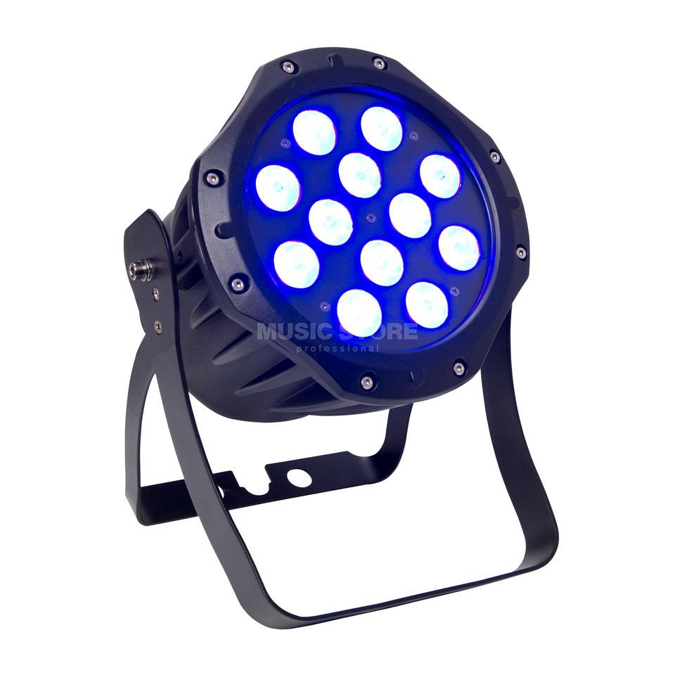 lightmaXX Platinum Tour Spot ARC 12x 3 Watt TRI-LED, IP65 Produktbillede