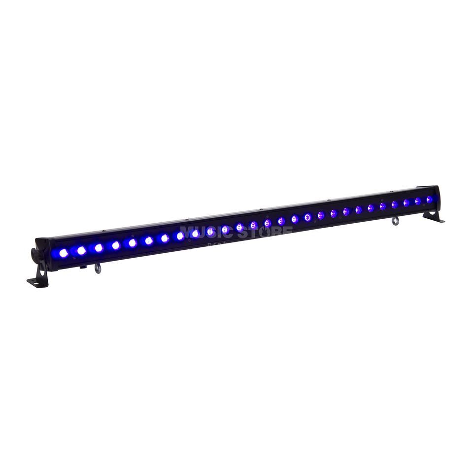 lightmaXX Platinum UV-BAR LED long 27x 1W UV, IR-Fernbedienung Produktbild