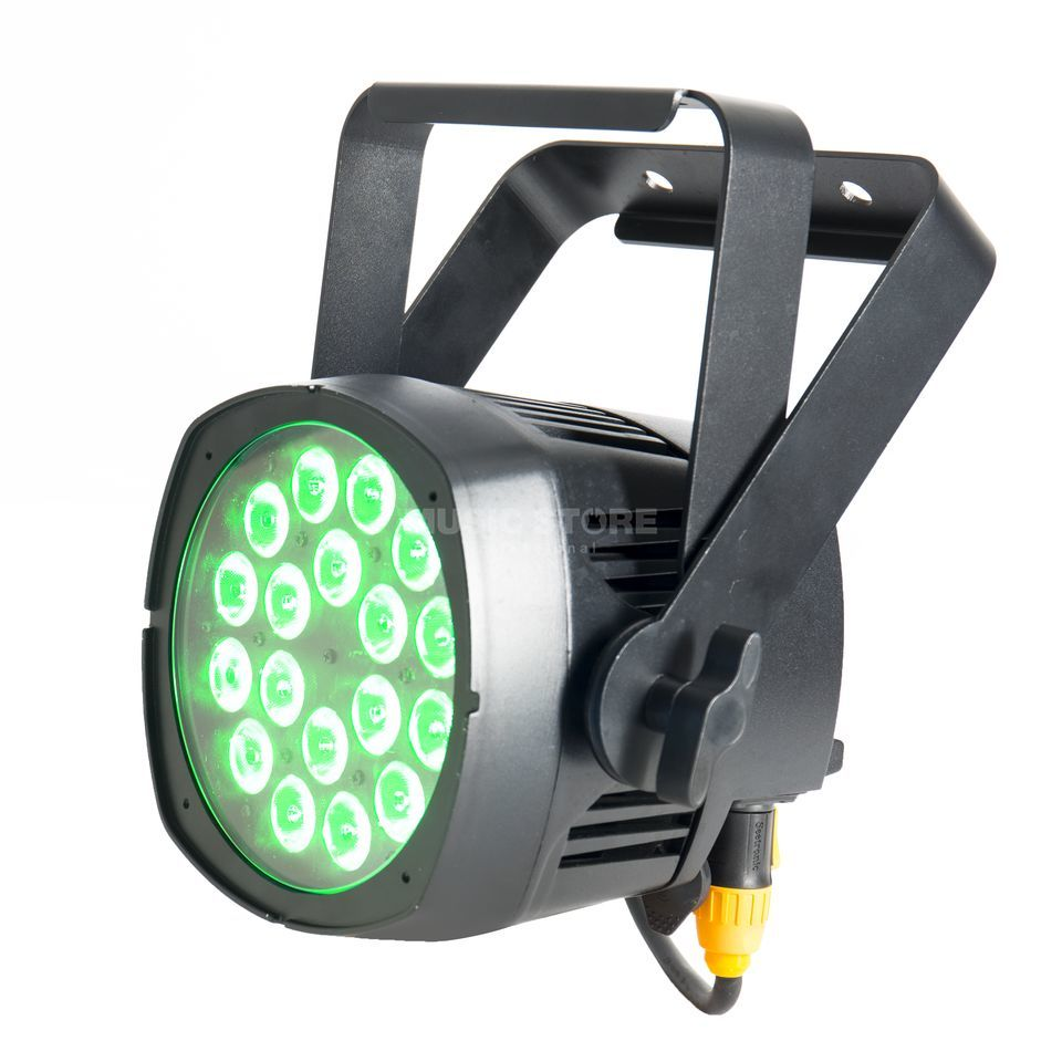 lightmaXX Pro Spot ARC RGBA 18x 5 Watt, IP65 Productafbeelding