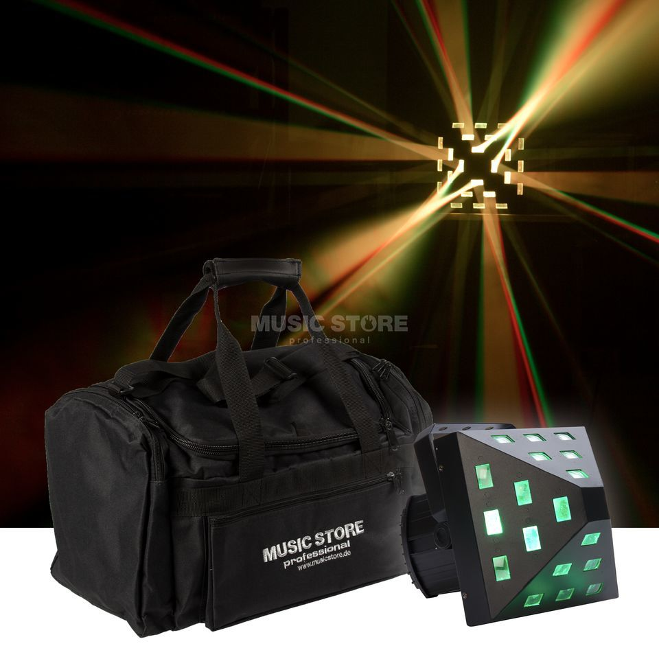lightmaXX PYRAMIDE 5x3W + Bag - Set Product Image