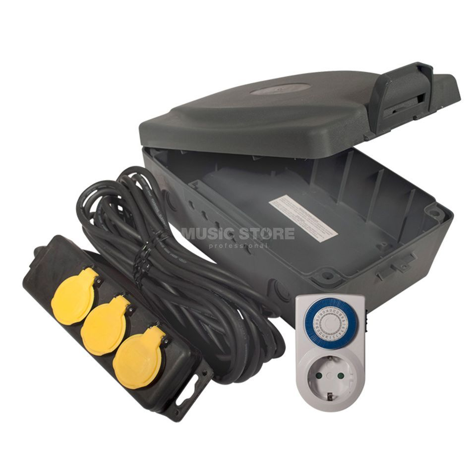 lightmaXX Safety Box for Outdoor Multisocket x3 Produktbillede