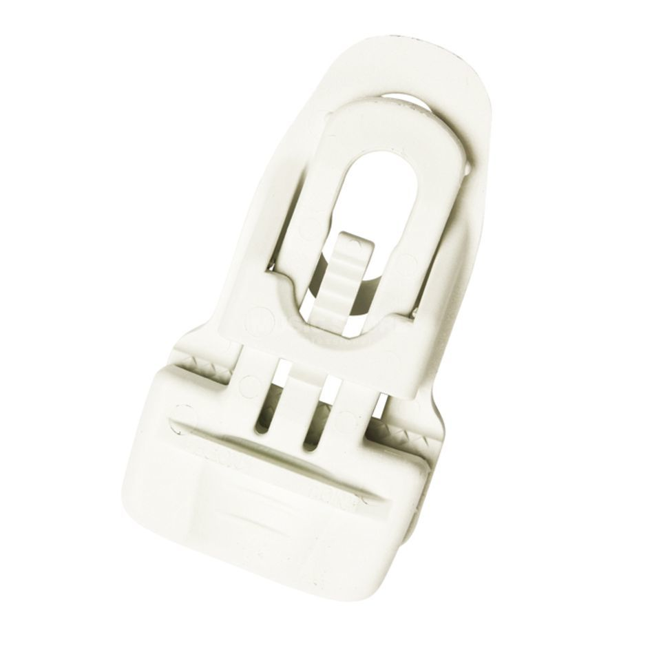 lightmaXX Spannfix Clip Pro Mini Clip White for Molton Produktbillede