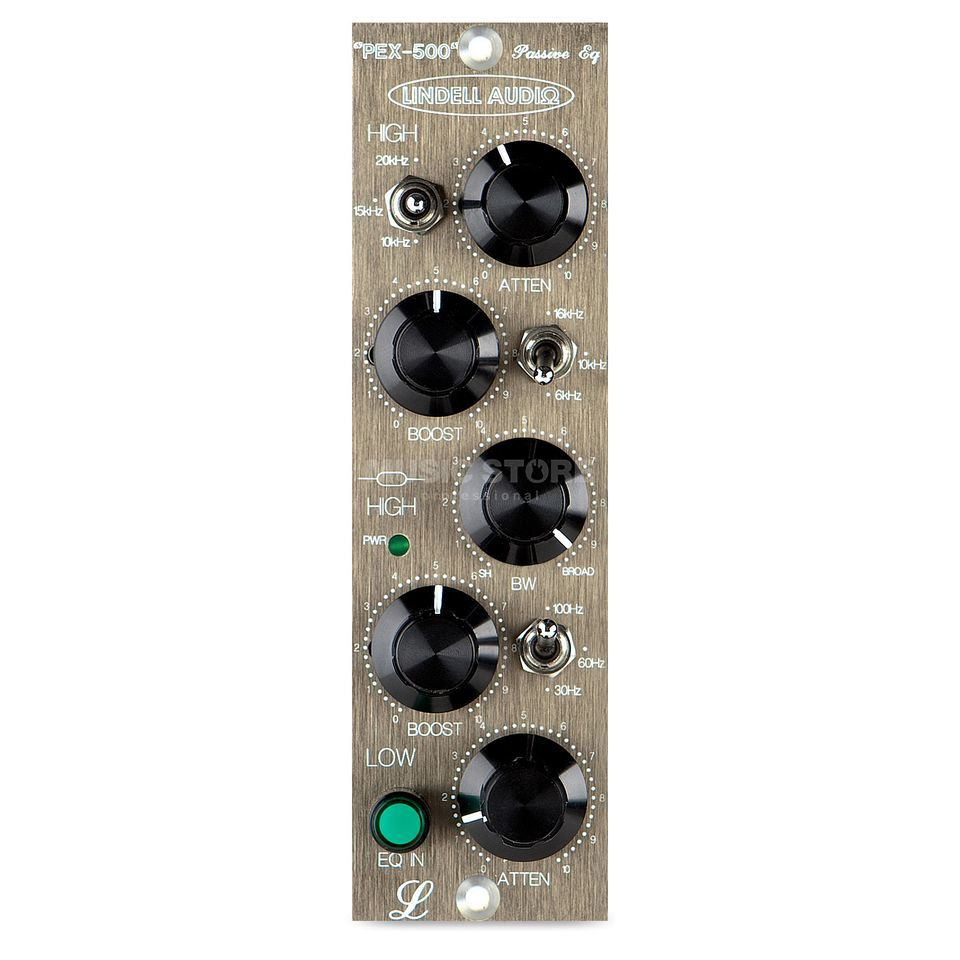 Lindell Audio PEX-500 500 Series Format Pultec Style EQ Module Produktbillede