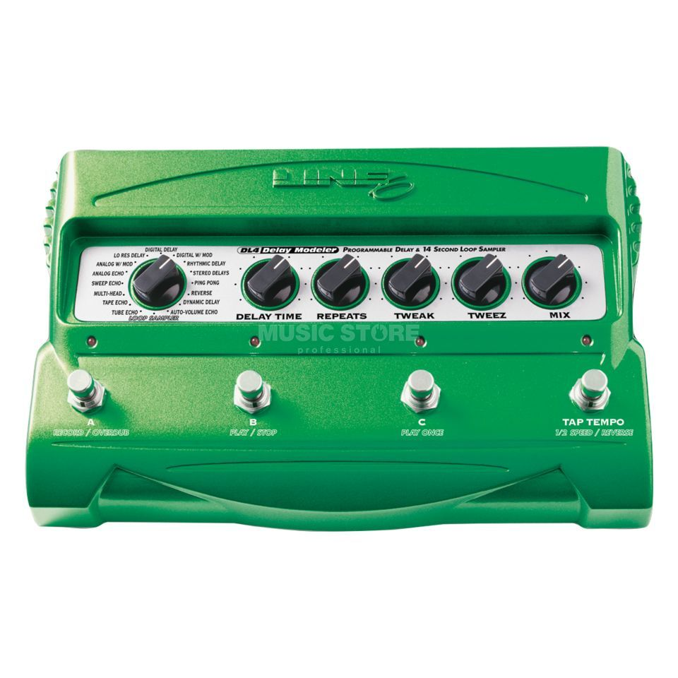 Line 6 DL4 Delay Stomp Box Modeler  Produktbild