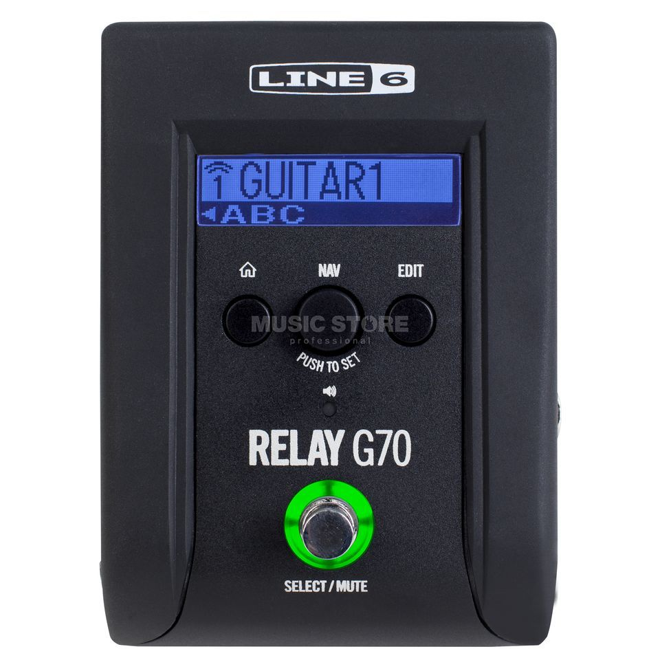 Line 6 Relay G70 Wireless System f.Gitarre/Bass Produktbild