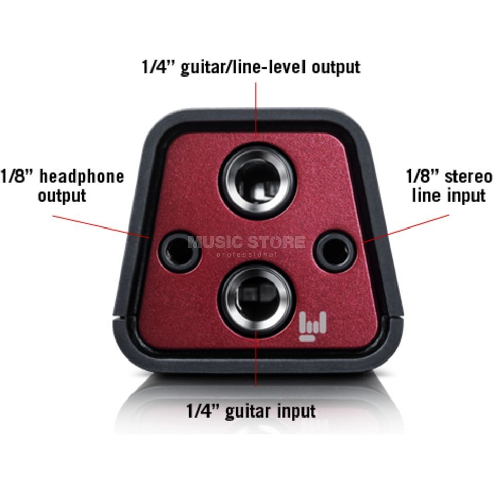 Line 6 Sonic Port Guitar Interface iPhone, iPad, iPod touch Produktbild