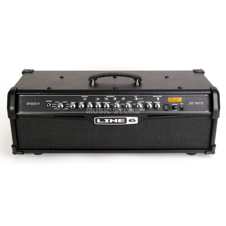 Line 6 Spider IV HD 150 Guitar Amp He ad   Product Image