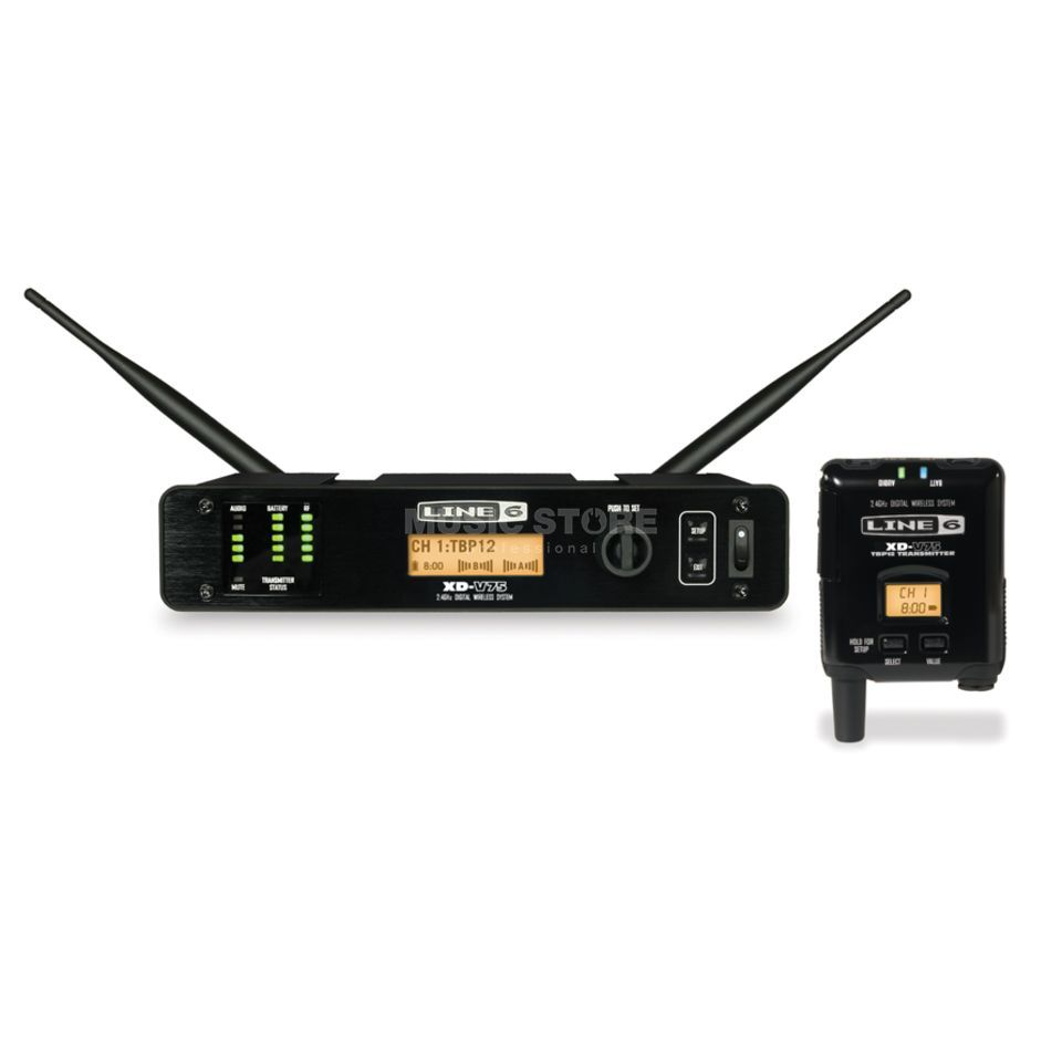 Line 6 XD-V75TR Digital Wireless Bodypack System Produktbillede
