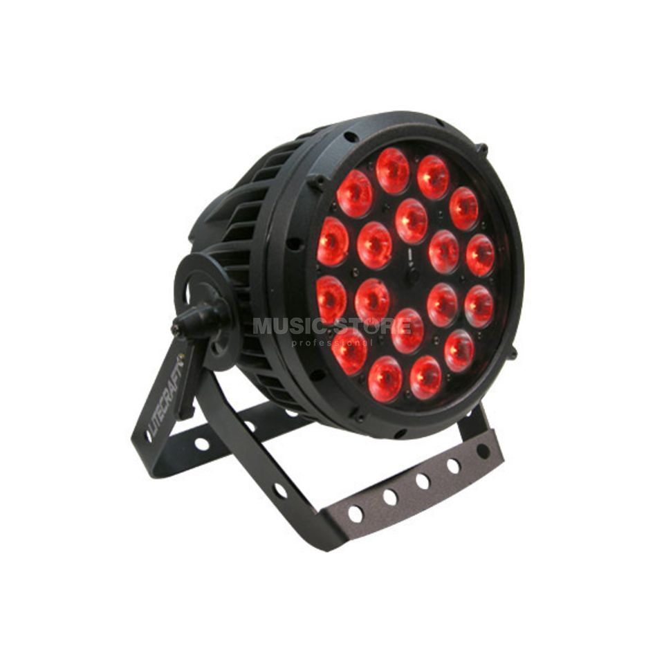 Litecraft InLED AT10 18x Multicolour LED, RGBA, DMX Produktbillede