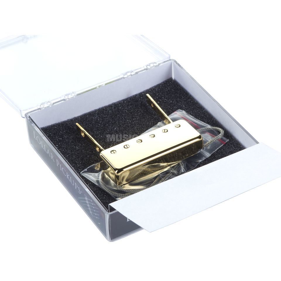 Lollar Guitars Inc. Johnny Smith Humbucker Neck Gold Produktbillede