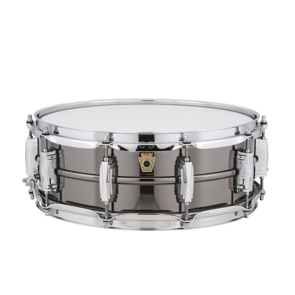"Ludwig Black Beauty Snare LB416, 14""x5"", Brass Product Image"