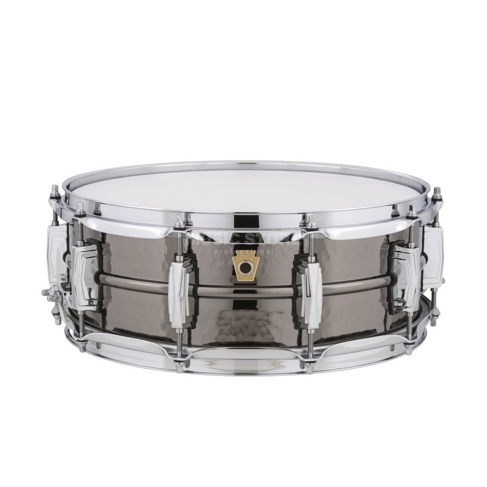 "Ludwig Black Beauty Snare LB416K, 14""x5"", Hammered Produktbild"