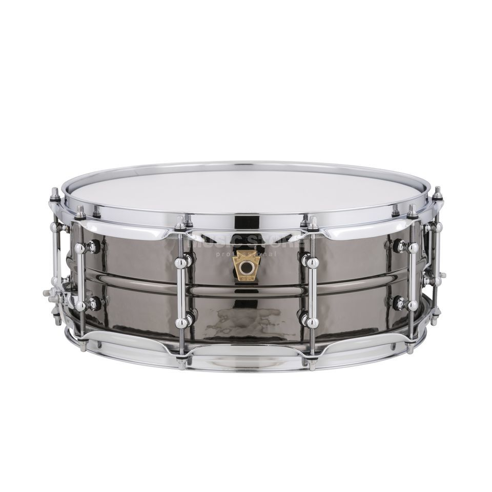 "Ludwig Black Beauty Snare LB416KT, 14""x5"", Hammered, Tube Lugs Produktbild"