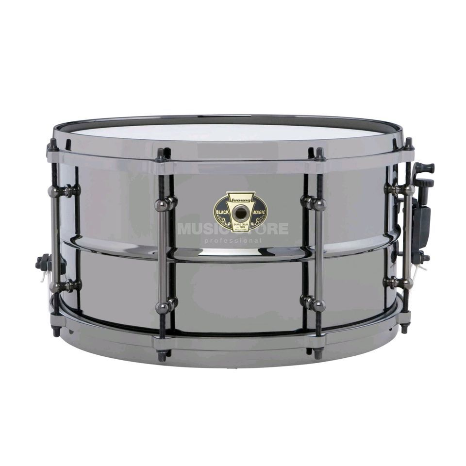 "Ludwig Black Magic Snare LW0713, 13""x7"", Produktbild"
