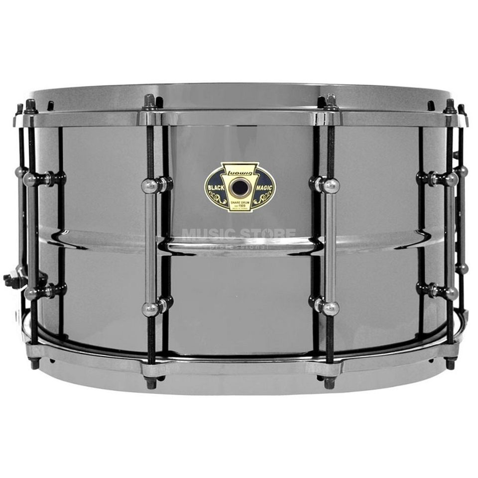 "Ludwig Black Magic Snare LW0814, 14""x8"" Produktbild"