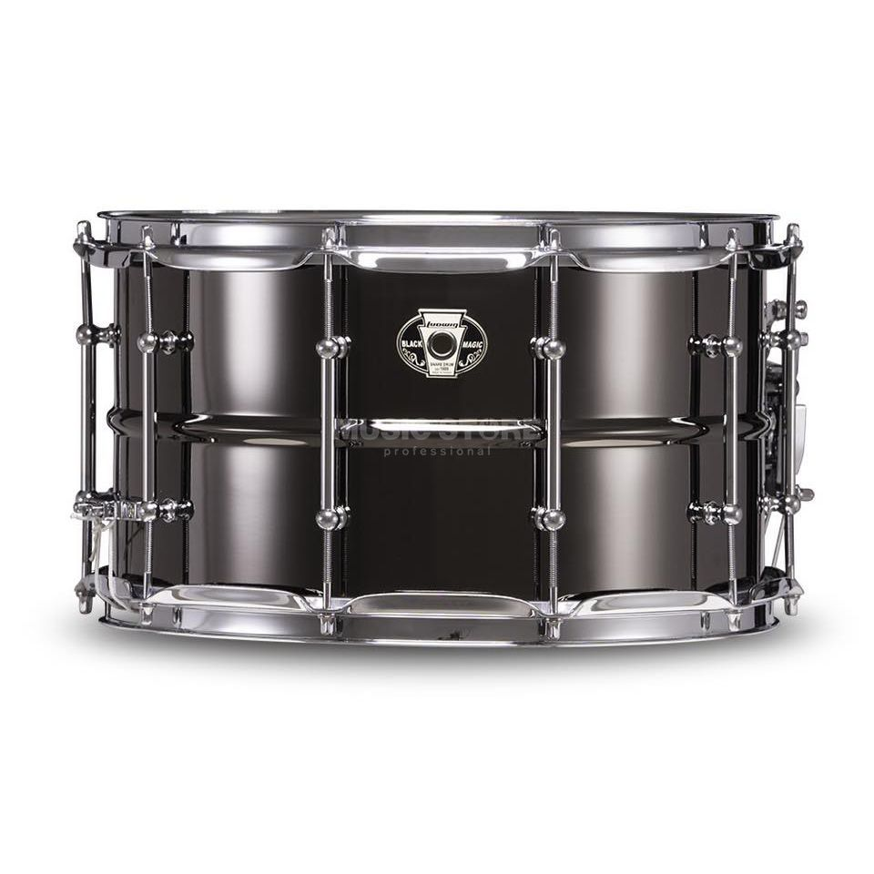 "Ludwig Black Magic Snare LW0814C, 14""x8"" Chrome Produktbillede"