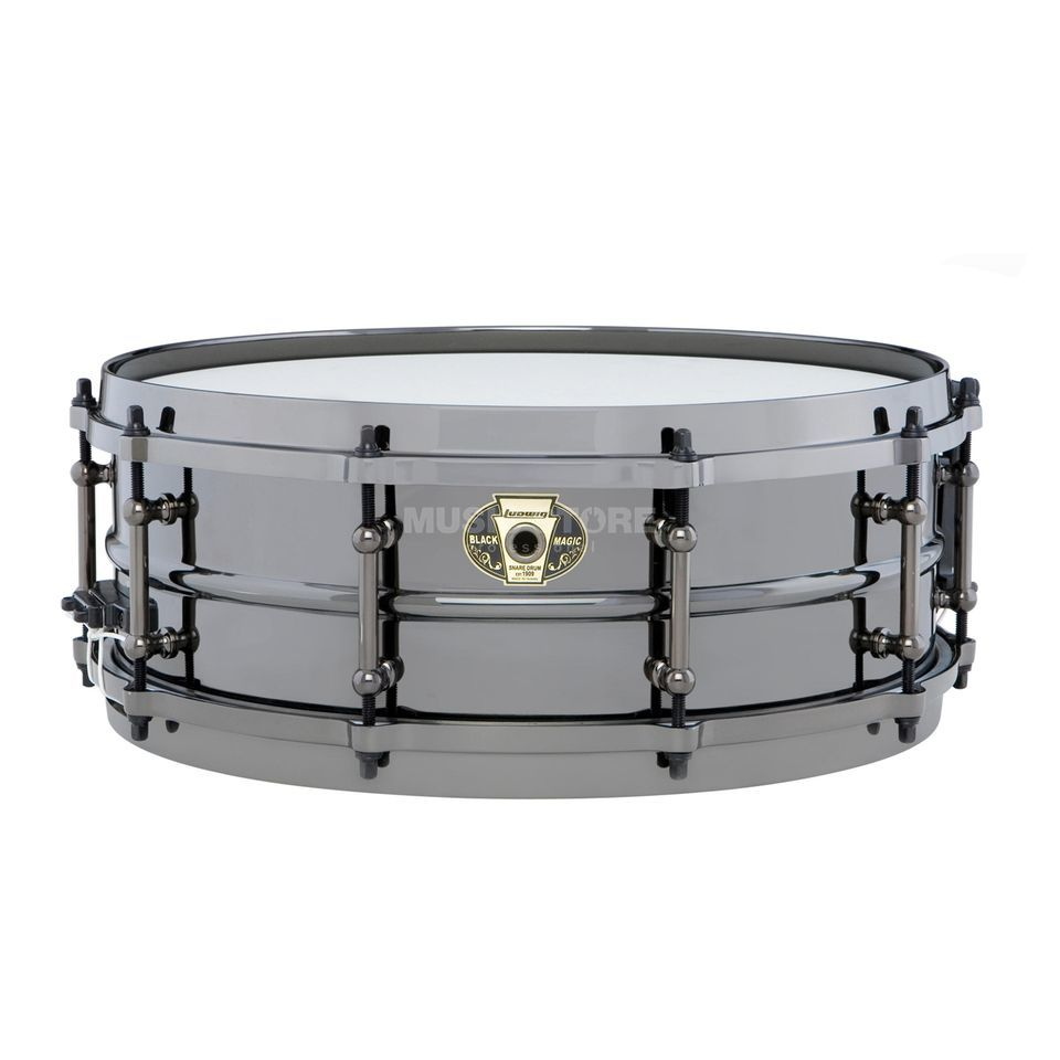 "Ludwig Black Magic Snare LW5514, 14""x5,5"" Produktbillede"