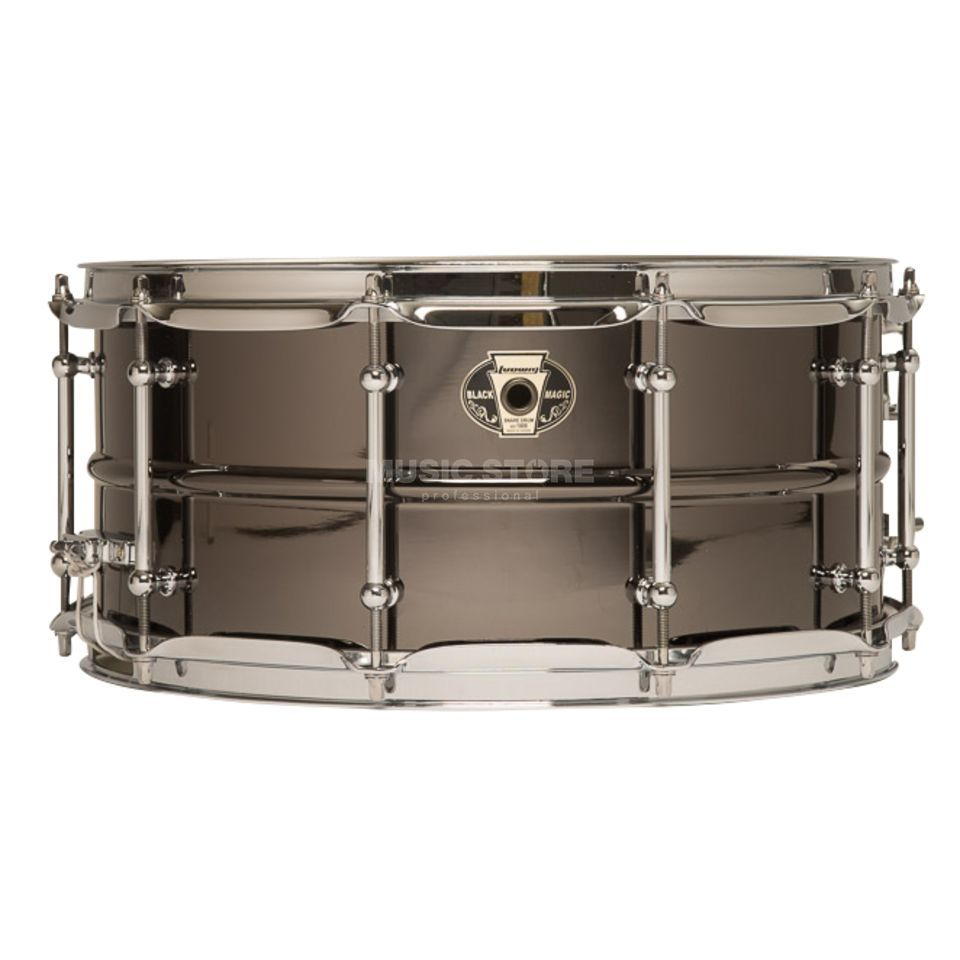 "Ludwig Black Magic Snare LW6514C, 14""x6,5"" Chrome Produktbillede"