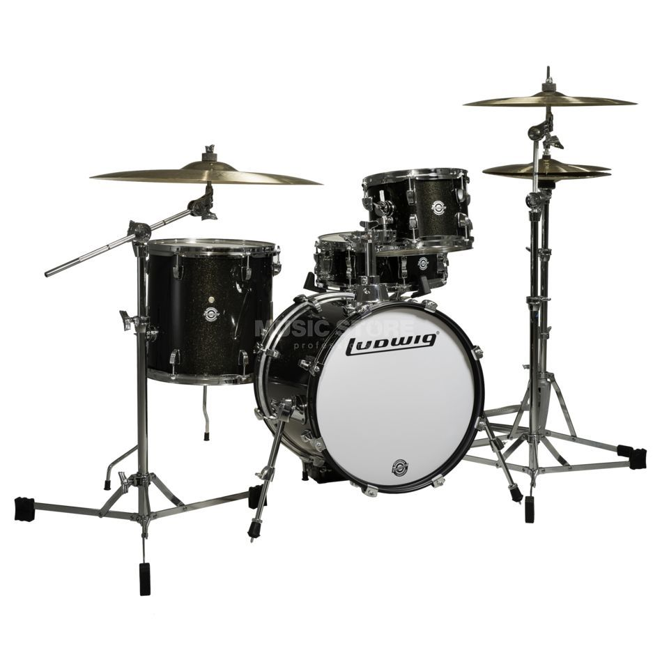 Ludwig Breakbeats ShellSet, Ahmir Thompson, Black Sparkle Produktbild
