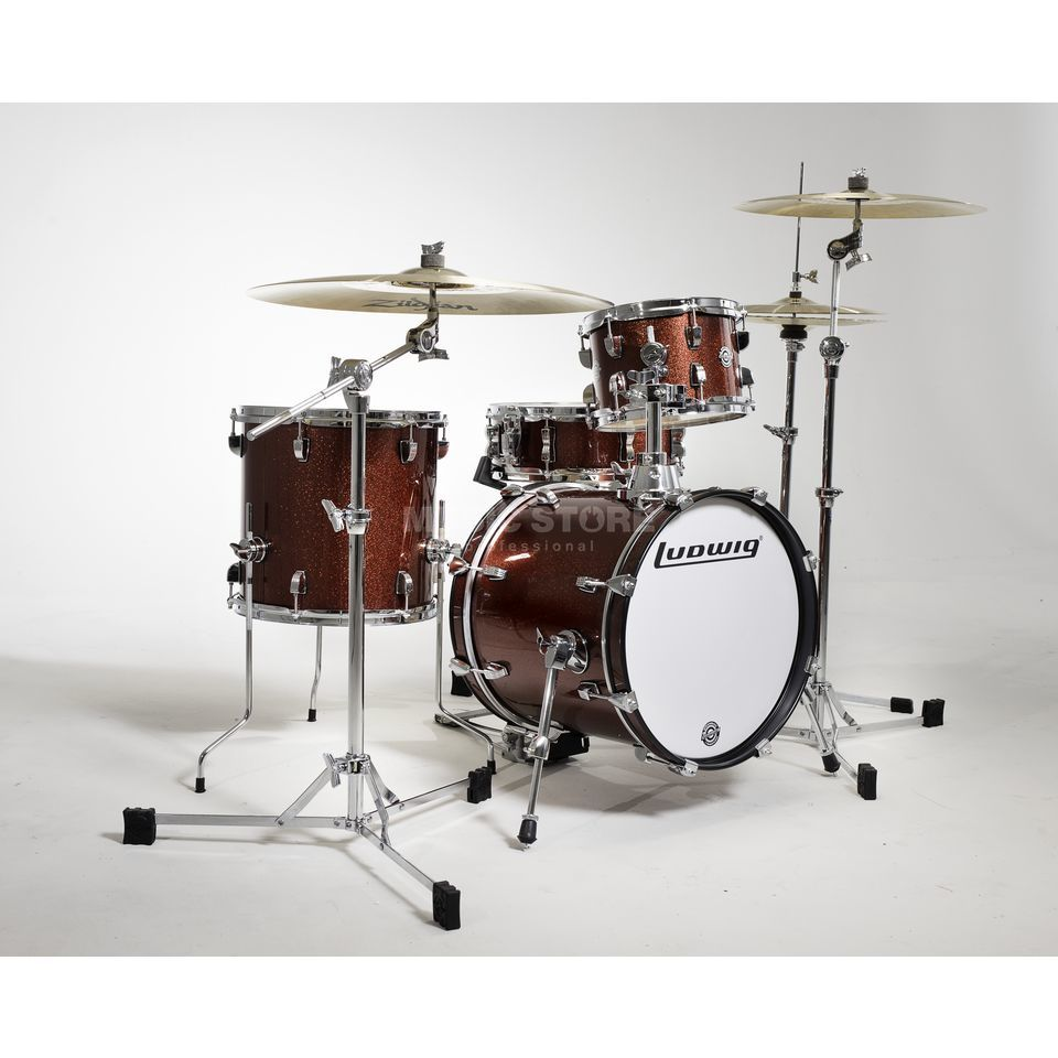 Ludwig Breakbeats ShellSet, Ahmir Thompson, Red Sparkle Produktbillede