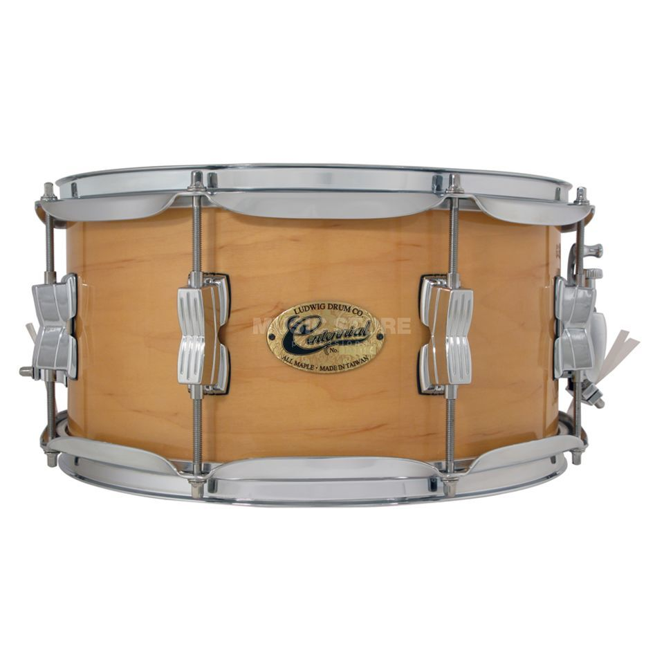 "Ludwig Centennial Snare Drum, 14""x6.5"", Natural Maple, #N Produktbillede"