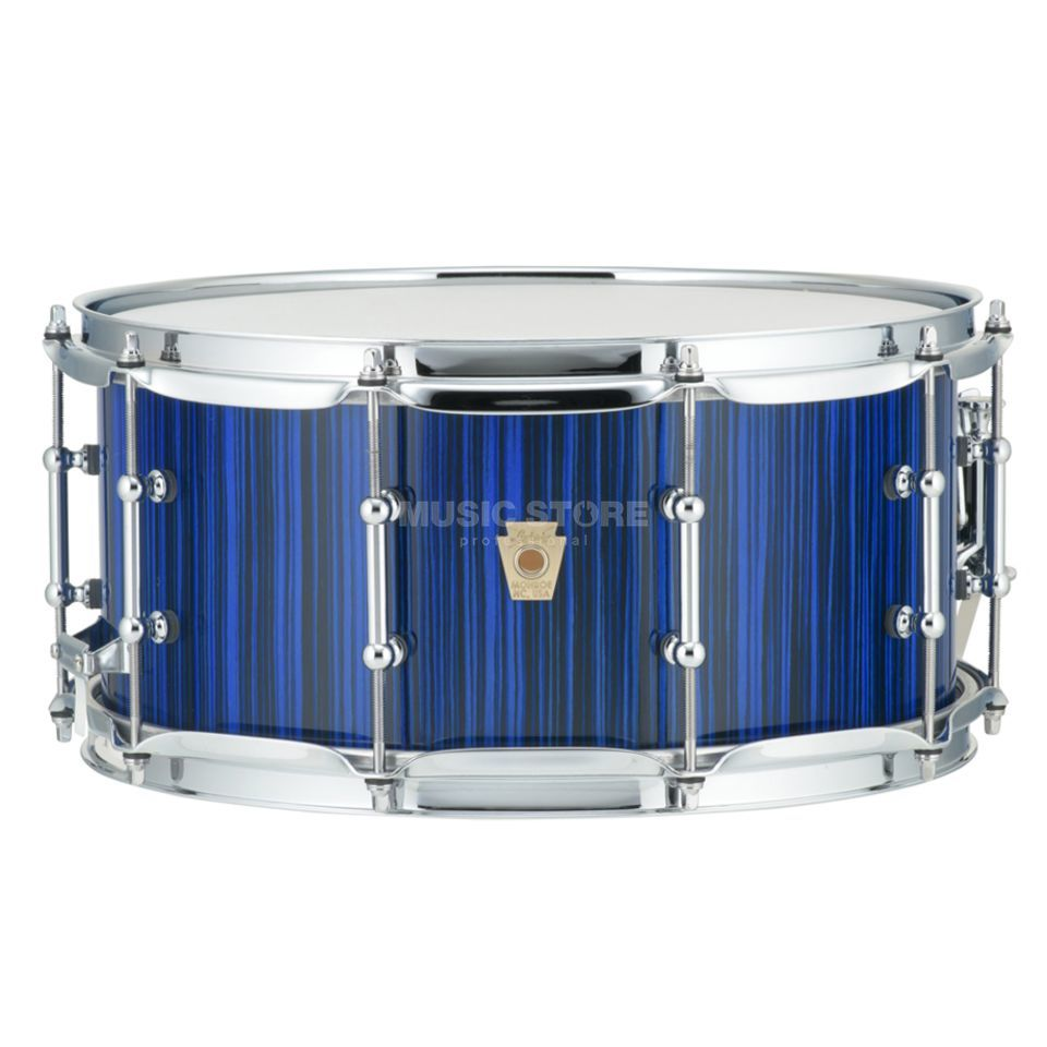 "Ludwig Classic Maple Electrostatic Snare 14""x6,5"", Blue Product Image"