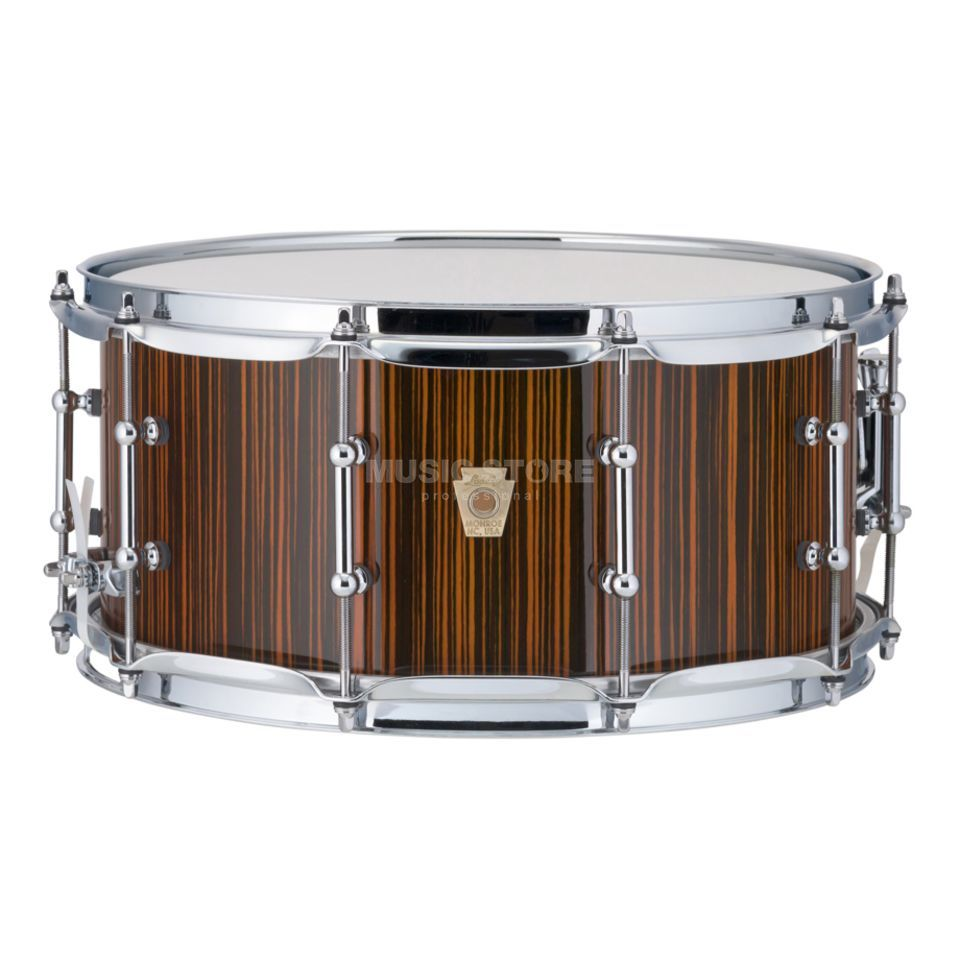 "Ludwig Classic Maple Electrostatic Snare 14""x6,5"", Orange Imagem do produto"