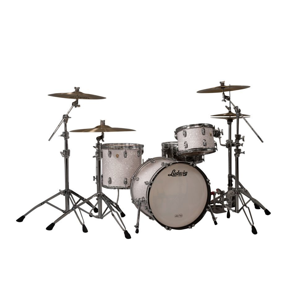 "Ludwig Classic Maple ""MOD22"", White Marine Pearl Produktbild"