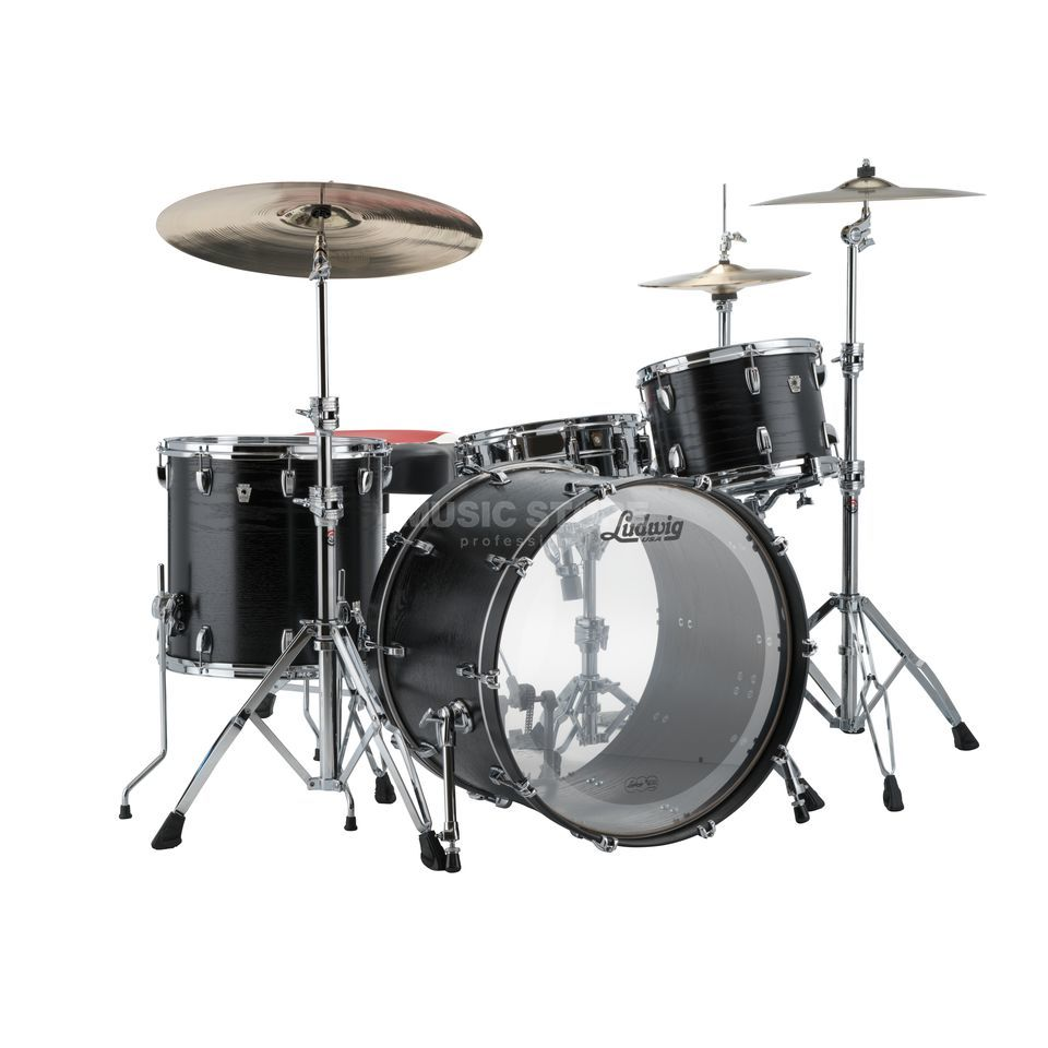 Ludwig Keystone X Big Beat L7024AXBH, Black Oak Produktbild