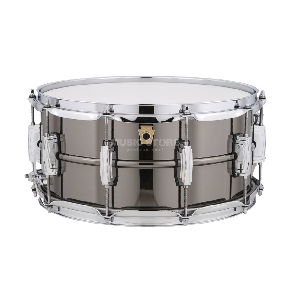 "Ludwig negro Beauty Snare LB417, 14""x6,5"", Brass Imagen del producto"